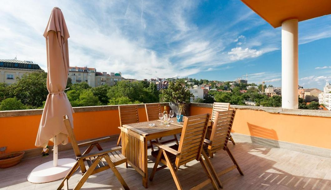 Margit 25 Amazing View Apartment Wit Balcony Ac Apartment ...